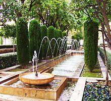 Leaping Fountain - Palma de Mallorca by Katlyn Novitski