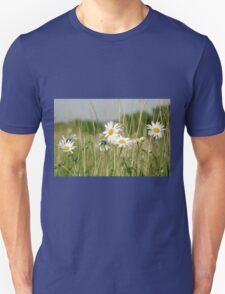 Daisies in field  Unisex T-Shirt