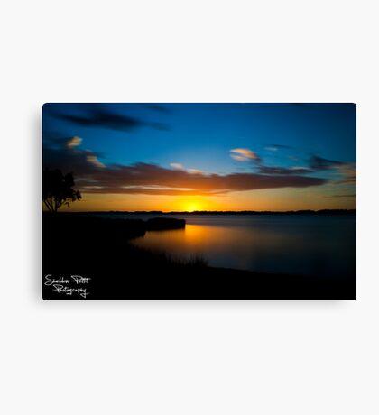 Australind Estuary Canvas Print