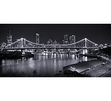 Story Bridge B&W- Brisbane Photographic Print