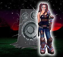 Cyborg Nattie by Bonnie Aungle