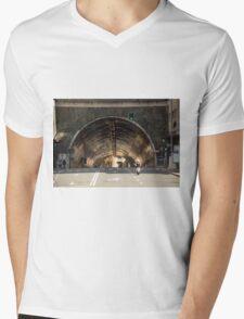 Follow the light  Mens V-Neck T-Shirt