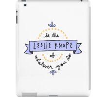 Leslie Knope iPad Case/Skin
