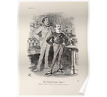 Cartoons by Sir John Tenniel selected from the pages of Punch 1901 0084 The Grand Young Man Poster