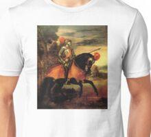 Holy Roman Emperor Charles V on Horseback Unisex T-Shirt