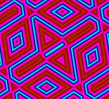 Abstract trendy line pattern by ZierNor
