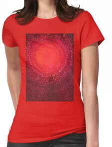 Native Sun original painting Womens Fitted T-Shirt