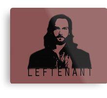 Leftenant Metal Print
