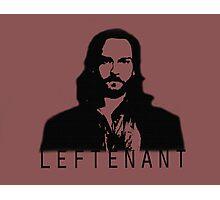 Leftenant Photographic Print