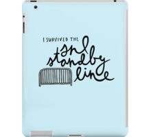 I Survived the SNL Standby Line iPad Case/Skin