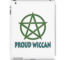 Proud Wiccan iPad Case/Skin