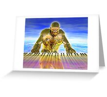 Keyboard Magic Greeting Card