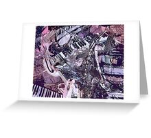 Music Shop Greeting Card