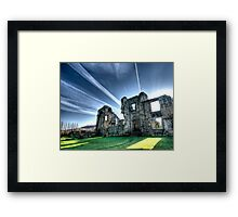 'let there be light' Framed Print