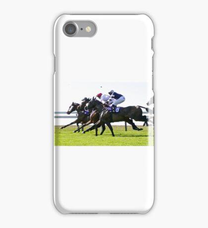 horse racing beverley iPhone Case/Skin