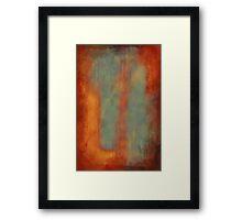 falling on mixed emotions Framed Print