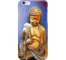 Buddha with Butterfly iPhone Case/Skin