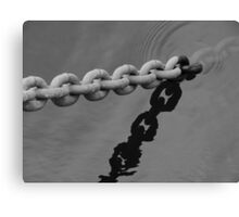 BW Chains Canvas Print