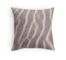 Sand Art of the Dunes Throw Pillow