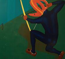 Relic Hunting Unsuspecting Wild Spatula by Rudy Pavlina