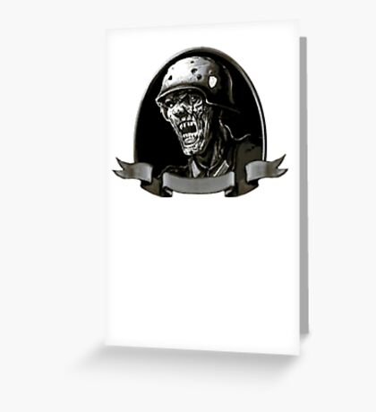Nazi Zombies Greeting Card