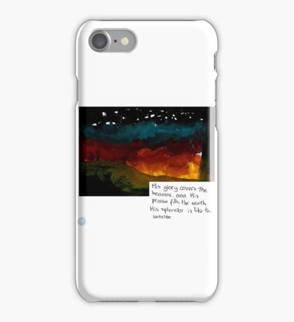 His glory iPhone Case/Skin