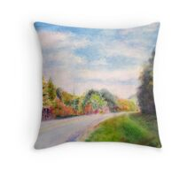 Into the Smokies Throw Pillow
