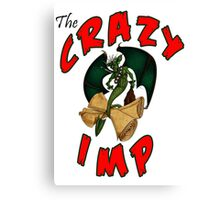The Crazy Imp Canvas Print