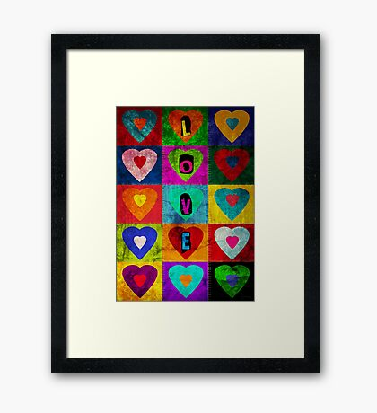 Much Loved - Print Framed Print