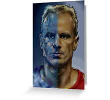 The Iceman - Dennis Bergkamp  Greeting Card