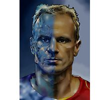 The Iceman - Dennis Bergkamp  Photographic Print