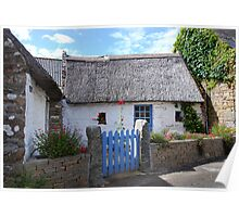 Thatched cottage in Brittany   2 Poster