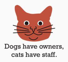 Cat staff Kids Tee