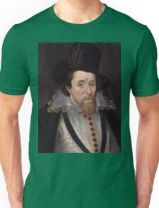 King James VI & I of Scotland and England Unisex T-Shirt
