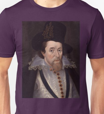 King James VI & I of Scotland and England Unisex T-Shirt