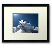 545 Framed Print
