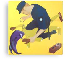 Poor Craftsmanship Observed During Autoanimation Arrest Canvas Print