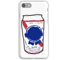 Popular beer  iPhone Case/Skin