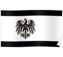 Flag of the Kingdom of Prussia Poster