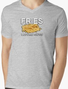 Fries before guys Mens V-Neck T-Shirt