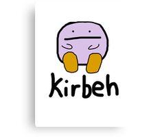 Kirby - Kirbeh Canvas Print