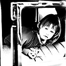 Young Girl in a Car by Buckwhite