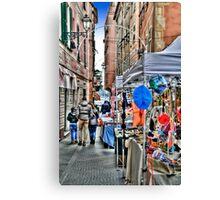 Rapallo Alley 2 Canvas Print