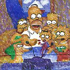The Simpsons by George Coombs