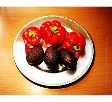 Healthy Veggies Photographic Print