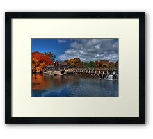 Mill - Sleepy Hollow Framed Print