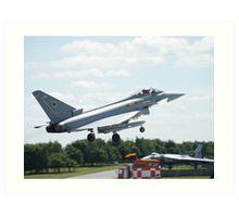 "Typhoon FGR4 ""DXI"" 11 (F) Squadron RAF Art Print"