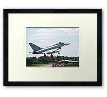 "Typhoon FGR4 ""DXI"" 11 (F) Squadron RAF Framed Print"