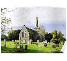 St Leonard's Church, Monyash Poster