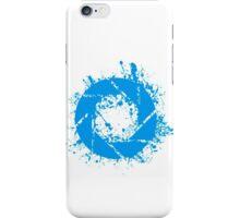 Portal Aperture Science Splatter Logo iPhone Case/Skin